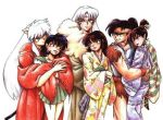 Inuyasha Couples by inuyashaandkagome232