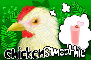 Chickensmoothie Drawing by angel223456