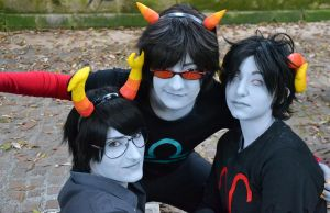 Homestuck - male!Troll by hanaquarius