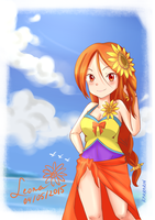 Pool Party Leona by karrarin
