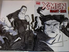 XMen PHX Con Sketch by ryancody
