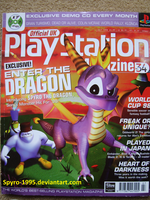Playstation Magazine 34 Spyro the Dragon Cover by Spyro-1995