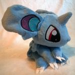 female nidoran plush by zukori