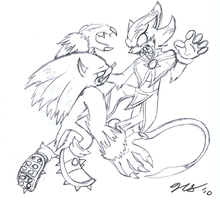 Werehog vs. Chaotic -WIP- by Ulta