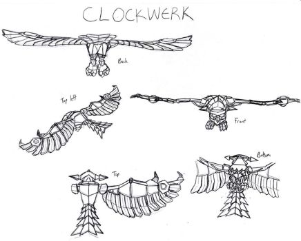 Sly 2- Clockwerk References by Mariannefosho