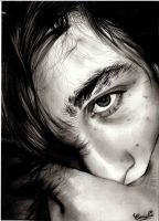 BnW face by Camelia-07