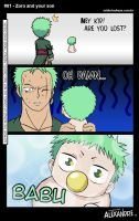 Zoro and your son by Momotakama