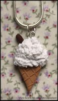 Seaside ice-cream necklace by citruscouture