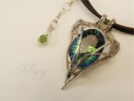 Mystic Topaz Pendant by FILIGRY
