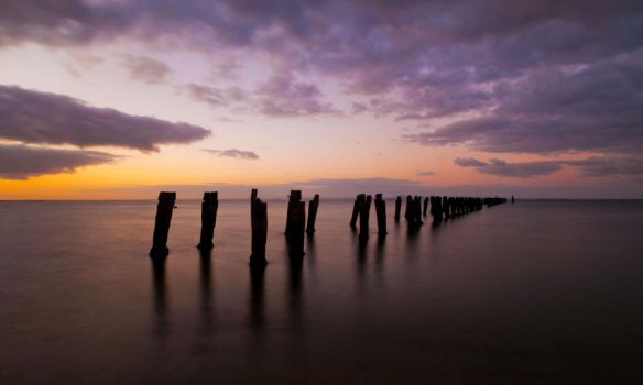 Clifton Springs Sunset by daniellepowell82