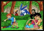 Easter Egg Hunt by heivais