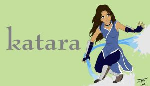 Katara. by justcallmefaye