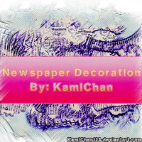 Newspaper Texture Decoration by Kami-Chan123