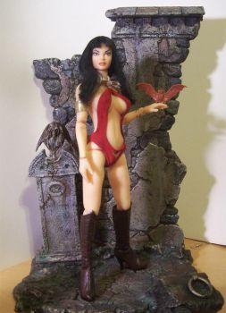 Vampirella Fan Figure by cbgorby