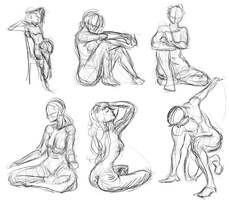 Poses 01 by Khem-Art