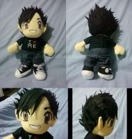 Commission - Matt plushie by fer-nanda-ssk