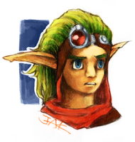 Jak : First painting by RAIRA-K