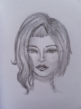 Face Sketch by silentfox9200