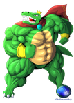 Super king Krool by OutlawMonkey