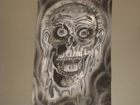 Tarman done in charcoal by lost-to-adorn-you