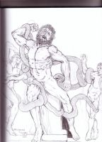 Laocoon and his Sons by danlewis4475