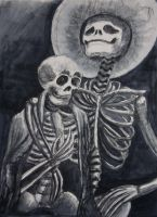 Drawing 2 - Charcoal Wash by Xynk
