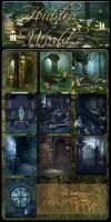 Hidden World backgrounds by moonchild-ljilja