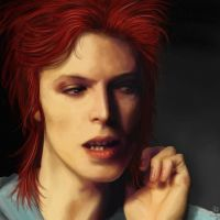 David Bowie: not wearing a hat by RosieFreakish