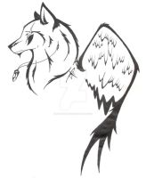 SpiritWolf - Tattoo Design by SpiritWolf517