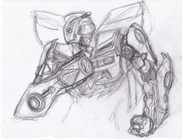 DOTM Bumblebee W.I.P. by ConstantM0tion