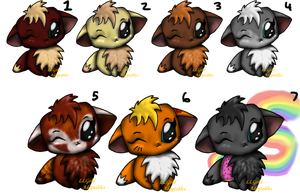Big head cat adopts 6 is left by LLGold