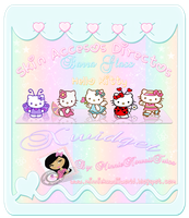Glass Bar Hello Kitty Skin Xwidget by MinnieKawaiiTutos