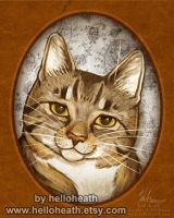 Victorian Kitty Willow by HeatherHitchman