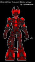 DarkWolf Armor Design, Back by ideallyRANDOM