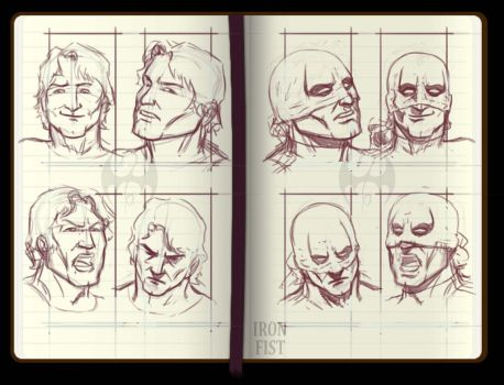 Iron Fist roughs by rubenslima