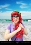 Hipster Ariel - Regards by IreneUbik