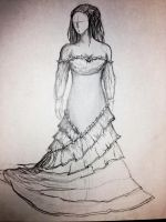 Ayva's Wedding Dress (WIP) by EveresshiaWind