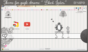 Theme For Google Chrome BlackLadies by Isfe