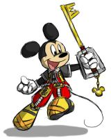 Kingdom Hearts King Mickey by Dream-Of-Serenity