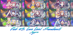 Pack #3 : Love Live! Sunshine!! ( Aqours ) by Inazami228