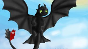Toothless by Jelgrohm