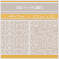 {SAI resources} Lace Brushes II by ASlovesLisa