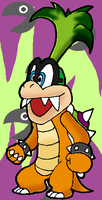 Paper Iggy Koopa by Tails19950