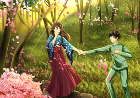 Comission: Naruto Taisho Era by Solstice-11