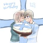 Aph and HCB: Happy birthday Finland! by SingerHeart16