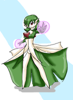 Female Physic/Fairy Type Pokemon by 12luigi