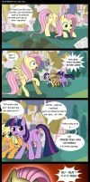Fluttershy le cupcakes by Mercury2099