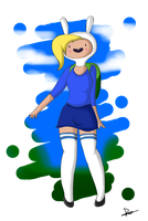 .:Fionna. the Human:. by The-Butch-X