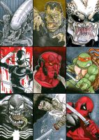 Sketch Cards - by David Hindelang by Iconograph