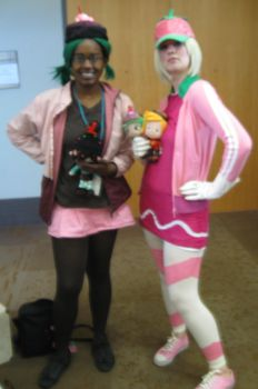 Taffyta and Candlehead at Anime Mid-Atlantic 2013 by MaryRyanBogard